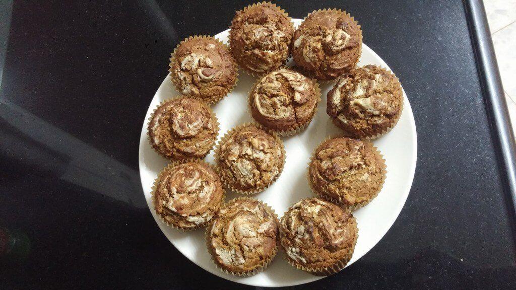 Deliciously moist vegan Sweet Potato Muffins