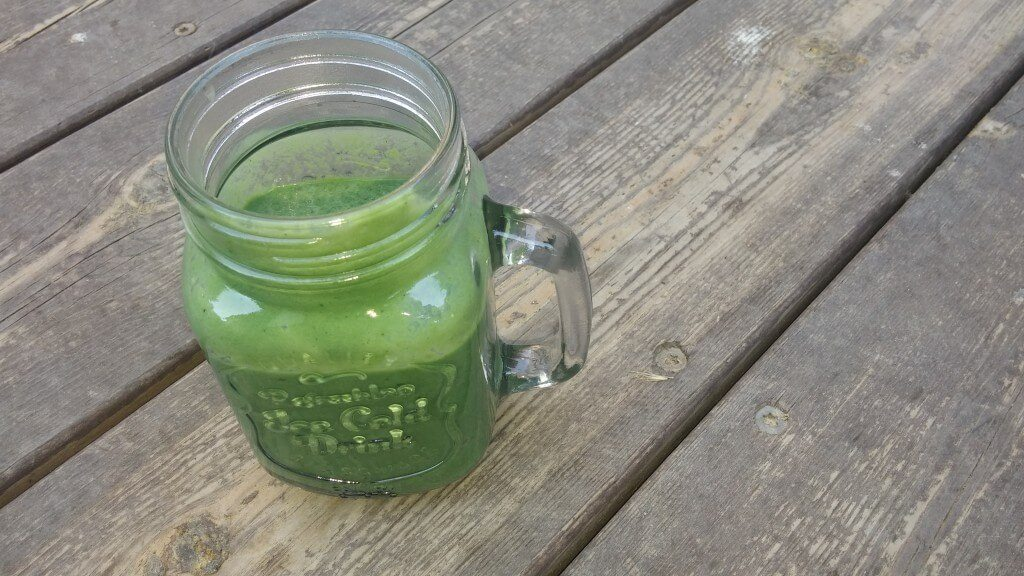 Delicious and Healthy Green Smoothy