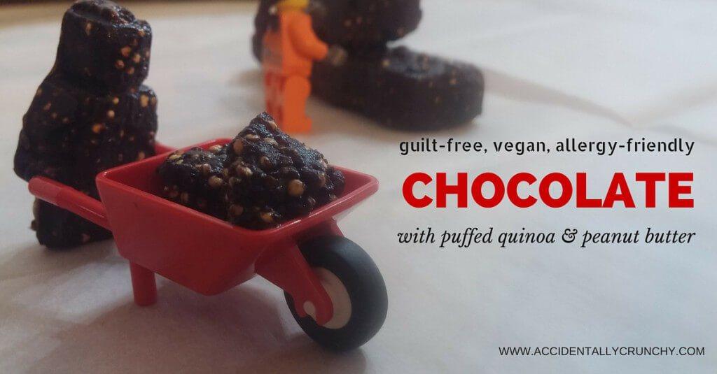 PUFFED QUINOA & PEANUT BUTTER CHOCOLATE