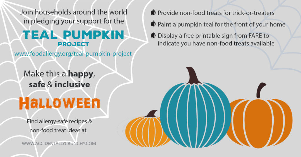 halloween Teal Pumpkin Project | accidentallycrunchy.com