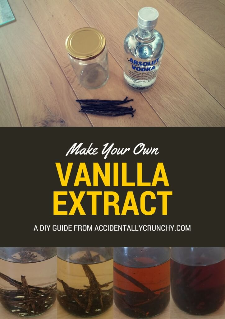 vanilla extract - make your own and see the investment pay for itself #frugalliving #DIY #homemade