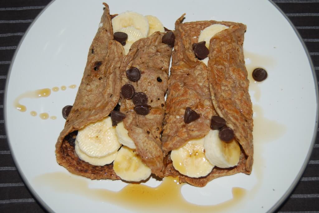 vegan crepe pancakes