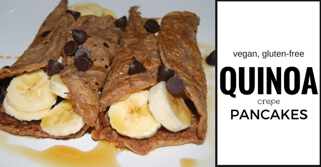 vegan gluten-free pancake recipe | accidentallycrunchy.com