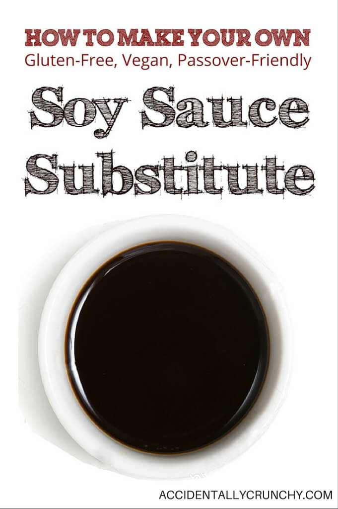 Make your own soy and gluten-free soy sauce alternative | accidentallycrunchy.com