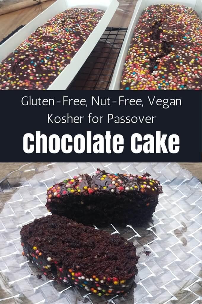 easy gluten-free vegan chocolate cake recipe | find more recipes at accidentally crunchy.com