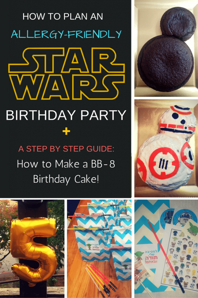 Planning an allergy-friendly star wars birthday party | for complete how-to steps and lots of allergy-safe recipes check out accidentallycrunchy.com