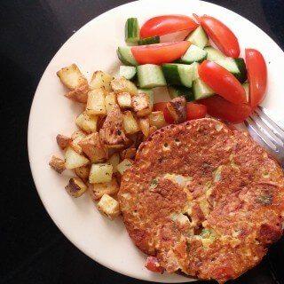 Savory Vegan Omelette