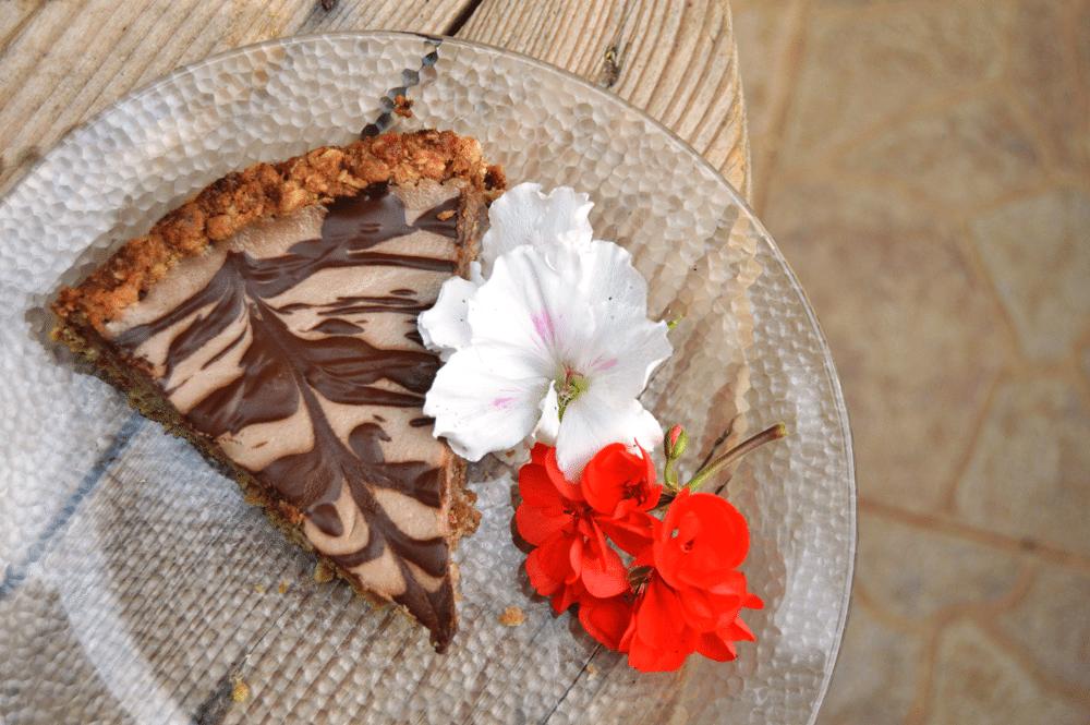 Banana Coconut Cream Cheesecake   Raw Vegan Cheesecake