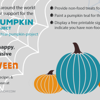 Support the Teal Pumpkin Project this Halloween