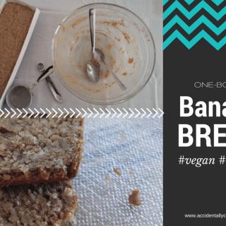 Vegan Banana Bread | One-Bowl Cake Recipe