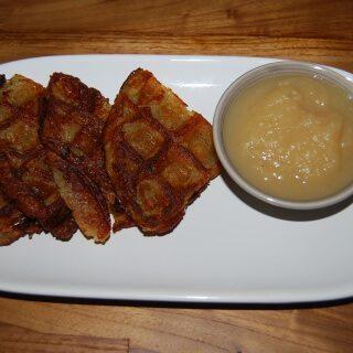 Yes, Latke Waffles! Easy Vegan Latke Recipe (Potato Pancakes)