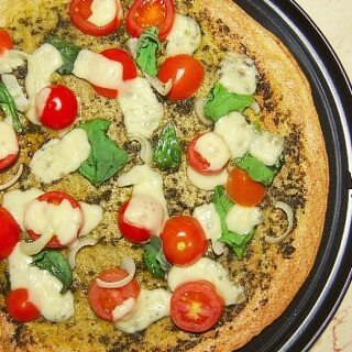 Quinoa Pizza Crust | Vegan & Gluten-Free Pizza Crust