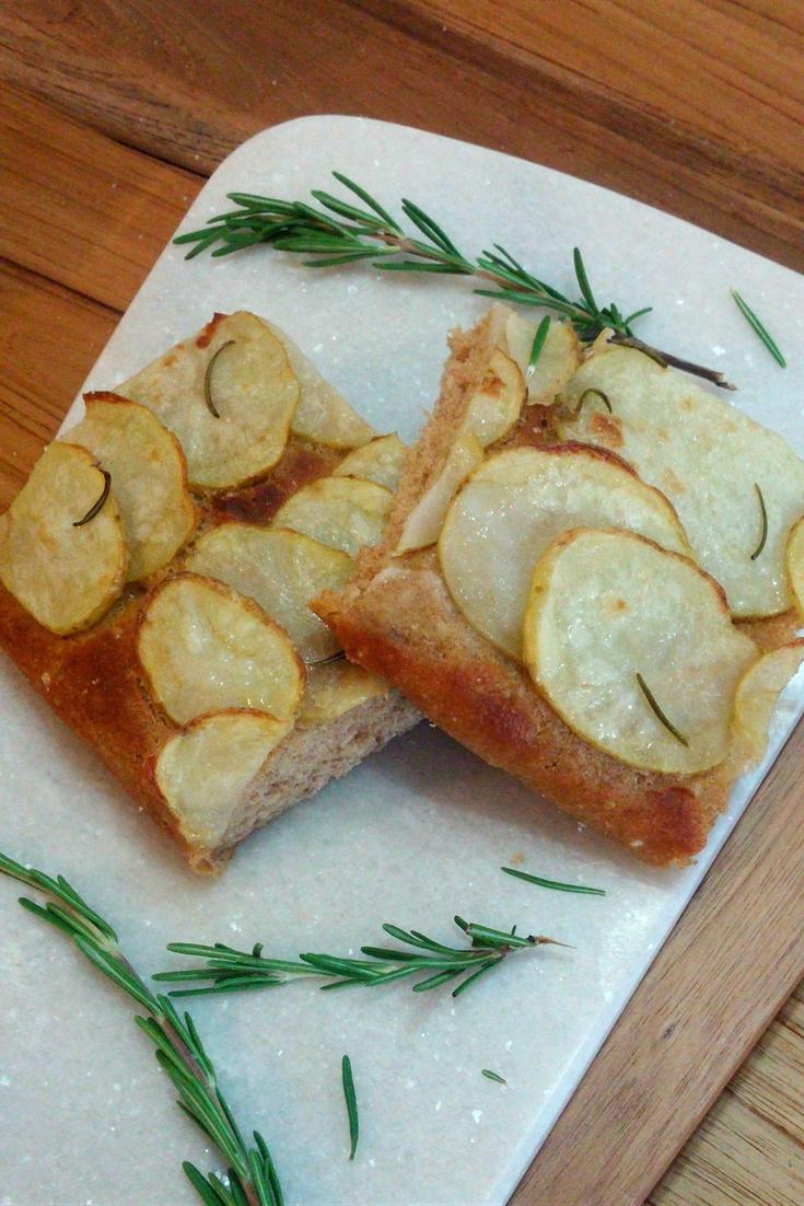 Potato & Rosemary Focaccia | Vegan, Nut & Soy-Free