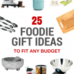 2016 Holiday Gift Guide - Find the perfect gift at any budget for the foodie in your life - find more foodie inspiration at accidentallycrunchy.com