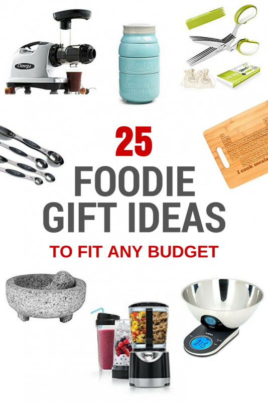 25 Foodie Gift Ideas To Fit Any Budget