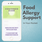 Neocate Footsteps food allergy support app - track allergy symptoms, new foods, medications, and more, and share that info easily with other caregivers, doctors, etc. | read more on accidentallycrunchy.com