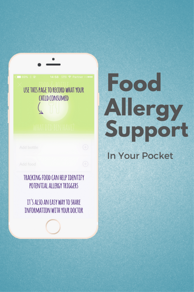 Identify track your childs food allergies with the neocate neocate footsteps food allergy support app track allergy symptoms new foods medications forumfinder Gallery